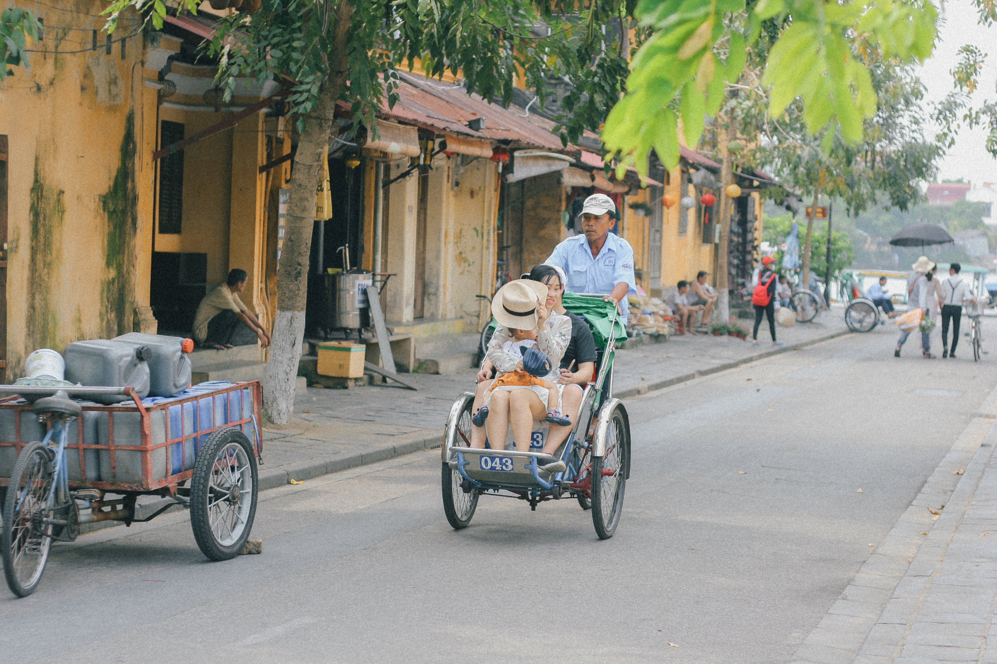 Free stock photo of hội an, old town, people, street