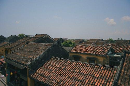 ộan, 天空, 屋頂, 老鎮 的 免费素材照片