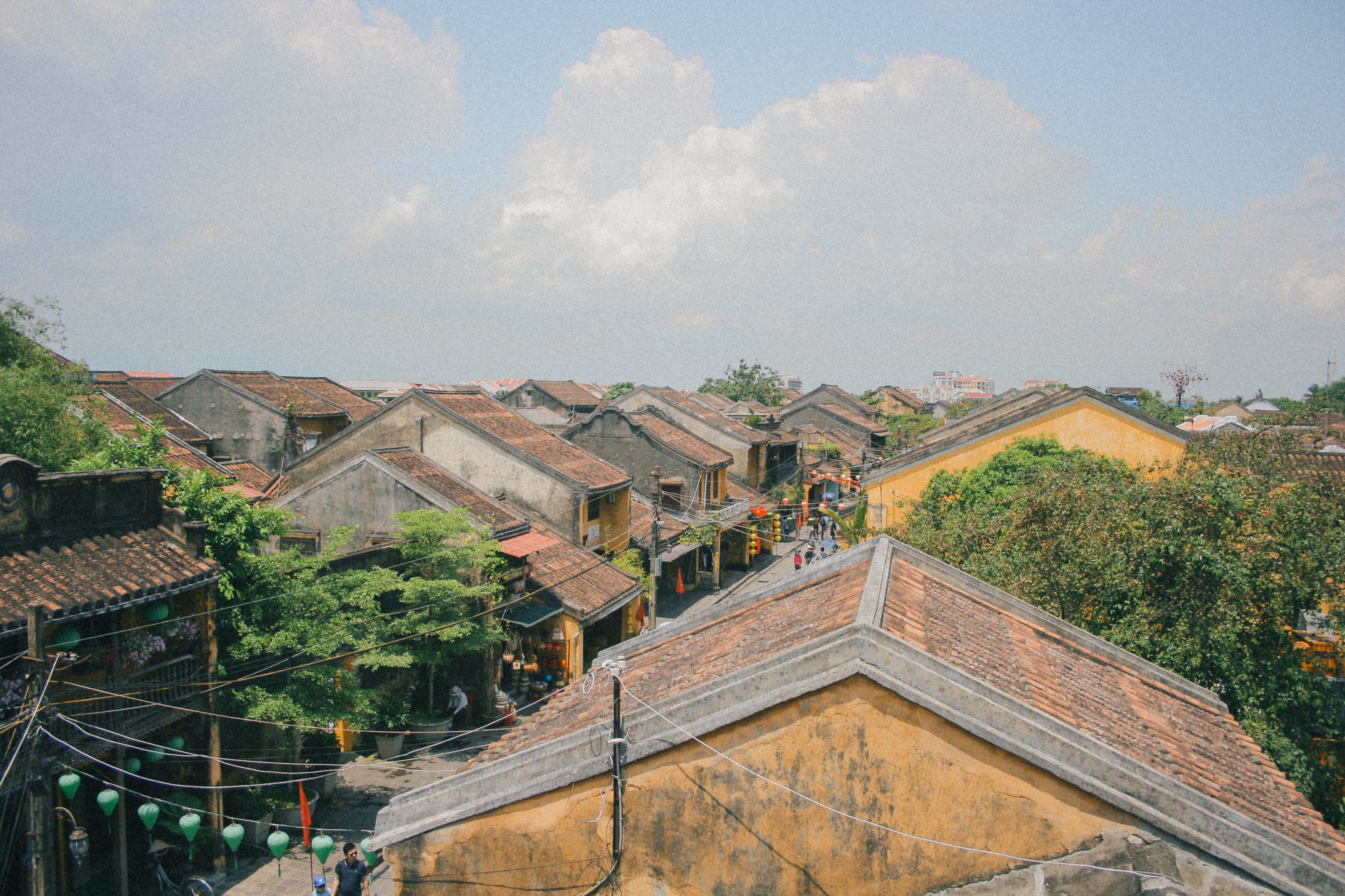 Free stock photo of old town, roofs, sky, vintage