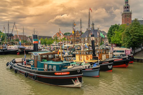 Free stock photo of Hafen