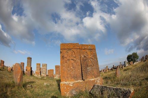 Free stock photo of armenia, cemetery, cross-stone, khachkar