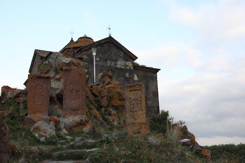 Free stock photo of armenia, church, cross-stone, khachkar