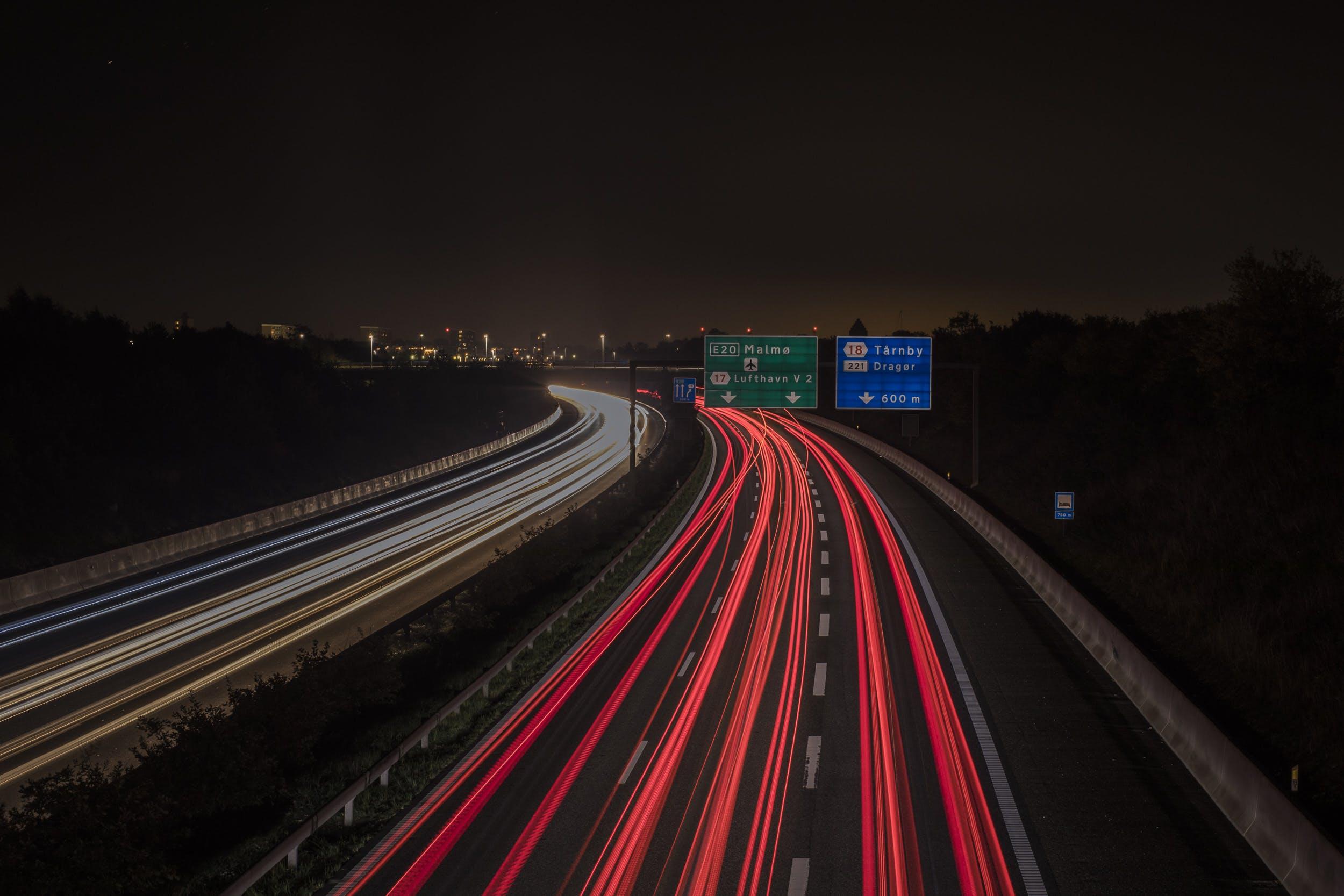 Free stock photo of highway
