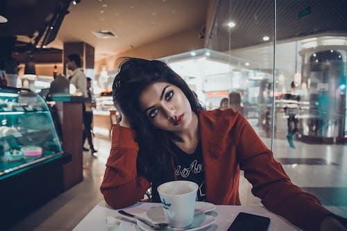 Gratis lagerfoto af cappuccino, drink, kaffe, kop
