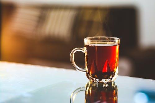 Gratis arkivbilde med damp, drikke, glass, koffein
