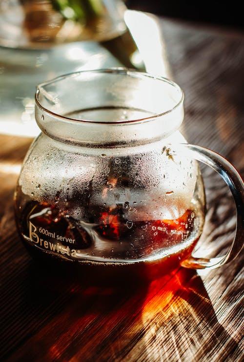Kostenloses Stock Foto zu brauerei, café, gebrühter kaffee, hinterleuchtet