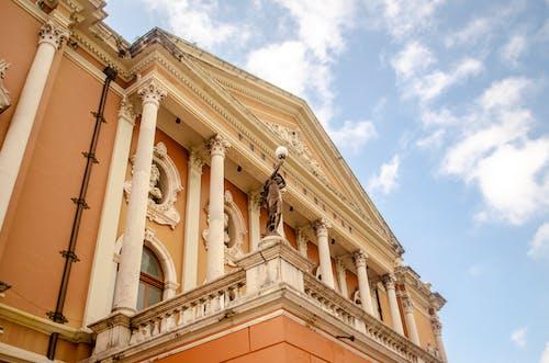 Fotobanka sbezplatnými fotkami na tému architektúra, balkón, budova, múzeum