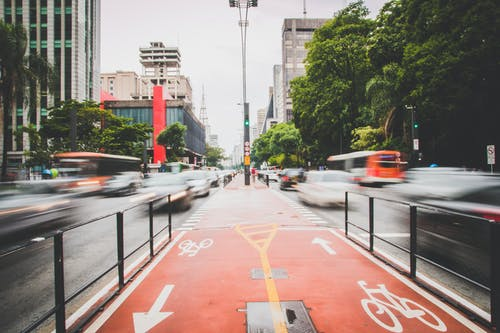 交通, 交通系統, 城市, 時間流逝 的 免費圖庫相片