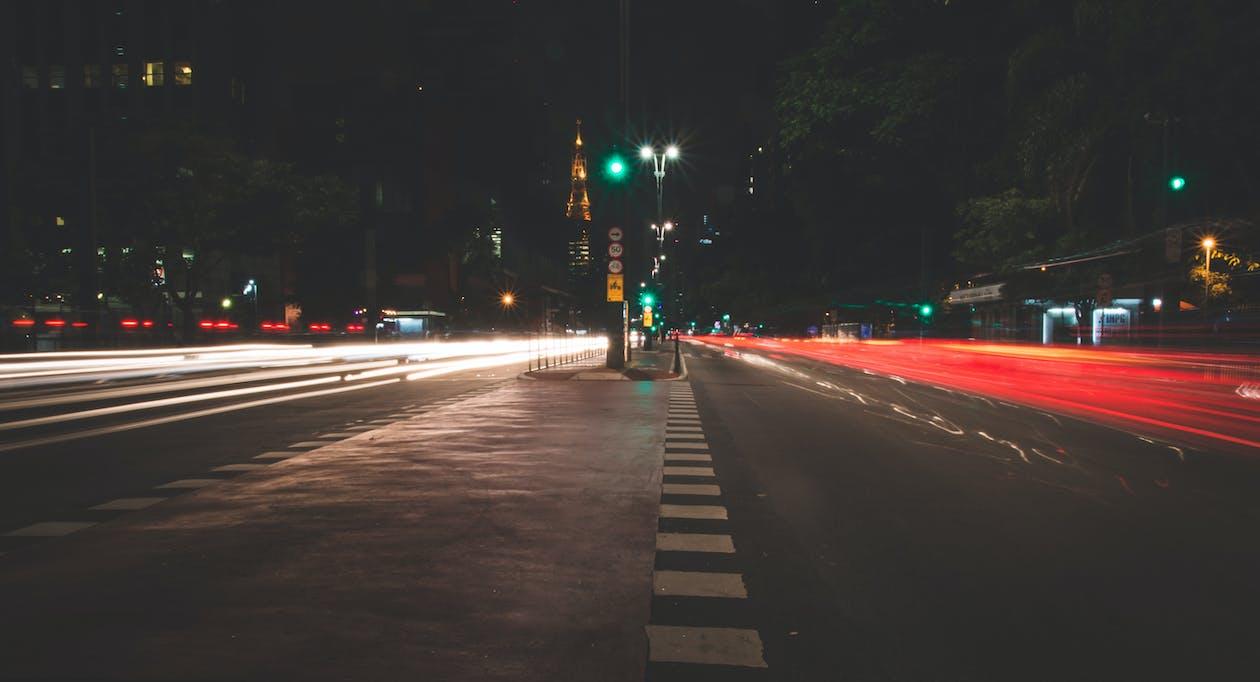 asfalt, časozberný, cesta