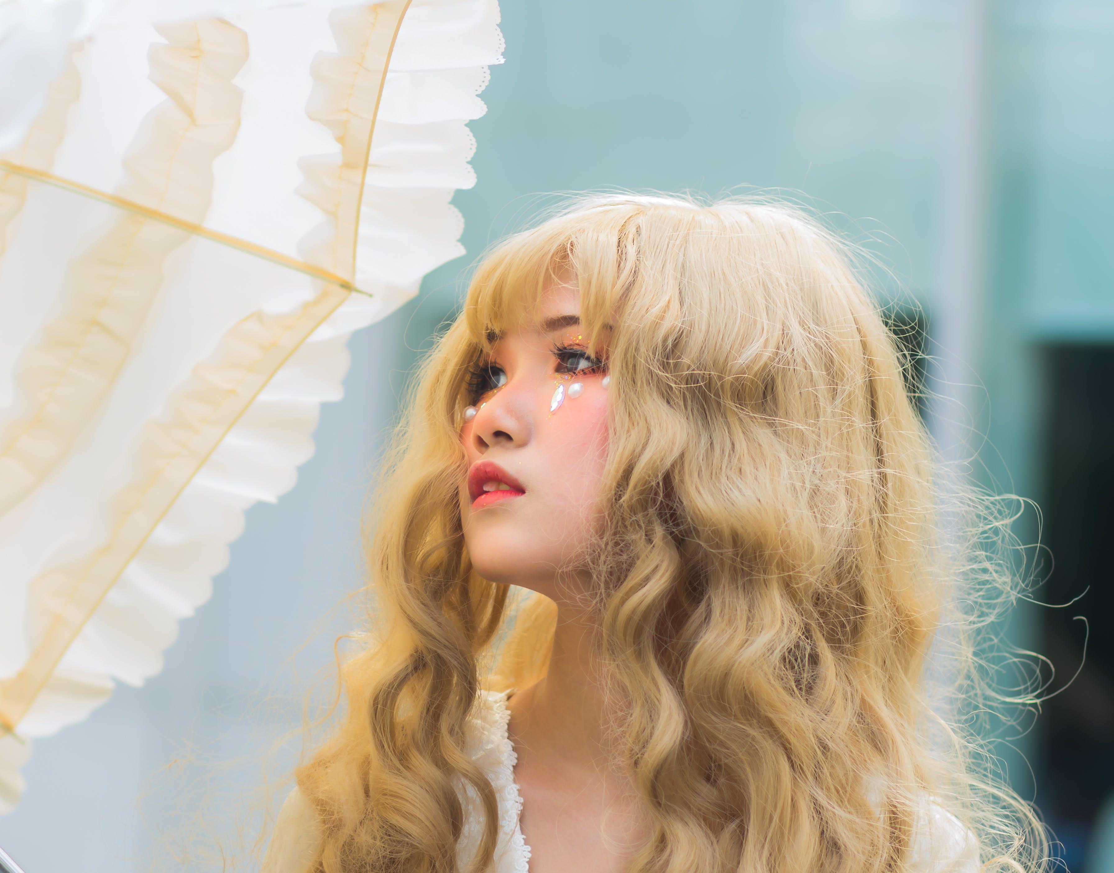 Fotobanka sbezplatnými fotkami na tému Ážijčanka, ázijské dievča, blond, cosplay