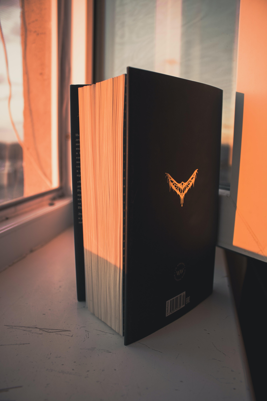 Black Book Near Window