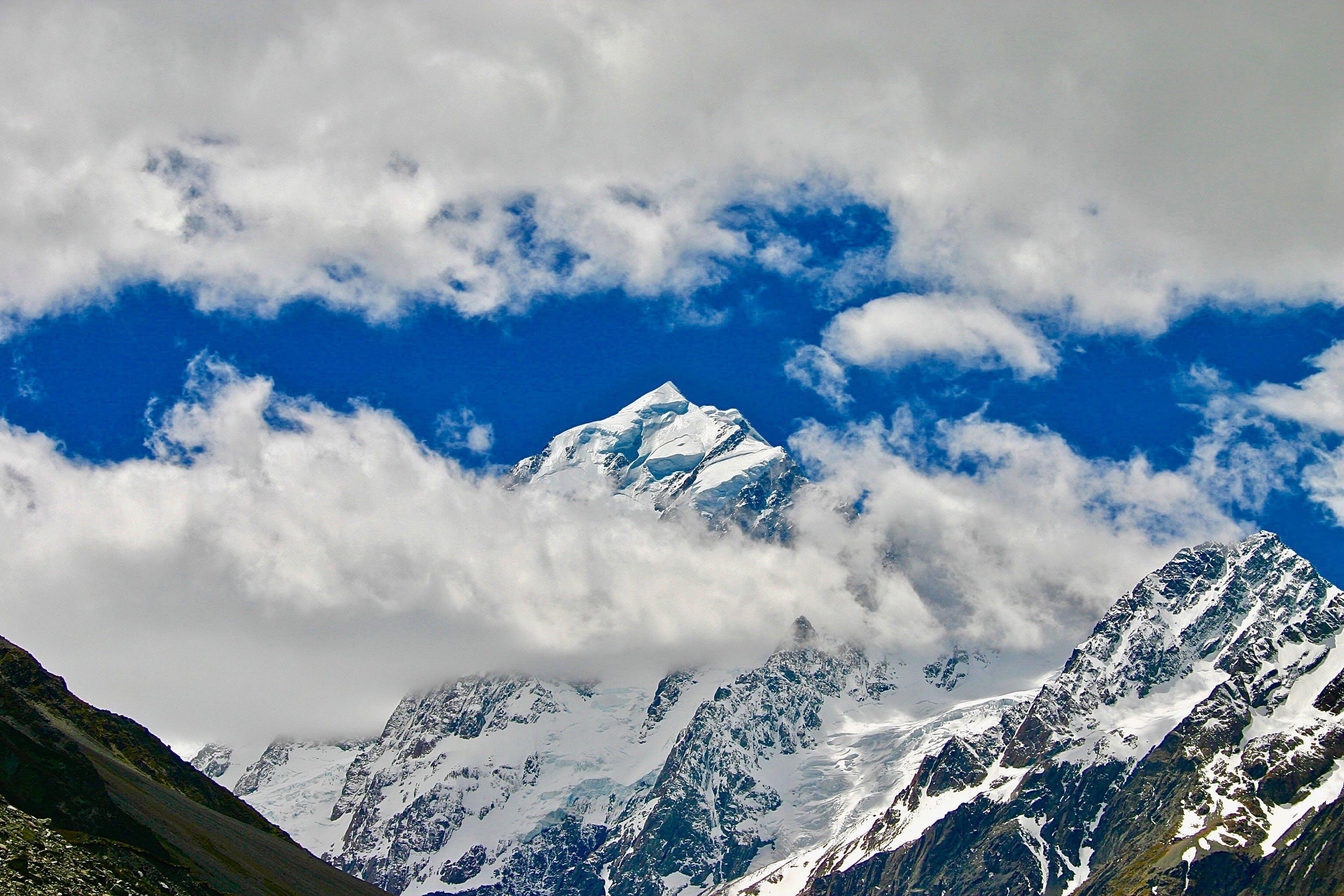 Fotobanka sbezplatnými fotkami na tému chladný, denné svetlo, fotografia prírody, horské vrcholy