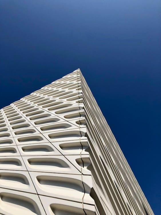 architectuur, flat, futuristisch