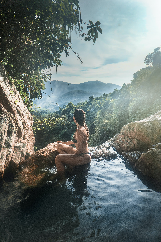 人, 天性, 女人, 山 的 免費圖庫相片