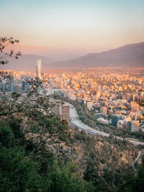 Free stock photo of andes, chile, city, latin america