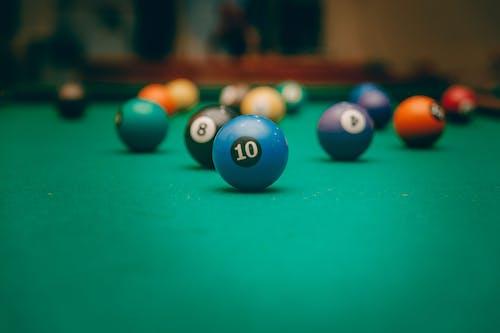 台球, 撞球, 撞球桌, 景深 的 免费素材图片