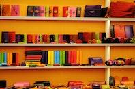 books, colorful, colourful