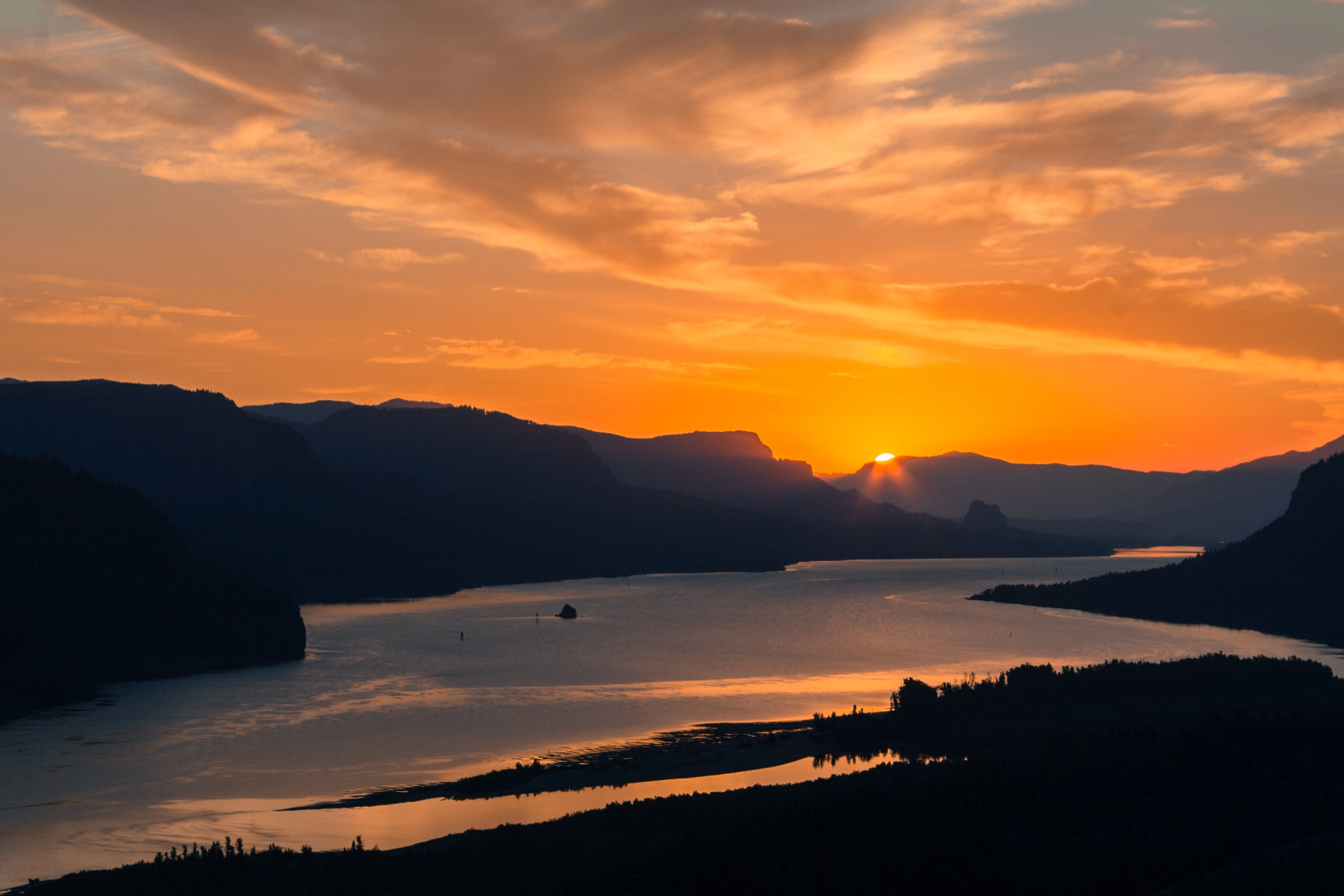 Free stock photo of colors, Columbia River Gorge, gorge, landscapes