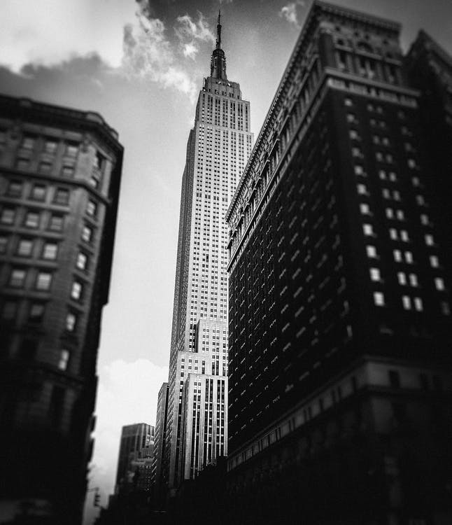 amèrica, arquitectura, blanc i negre
