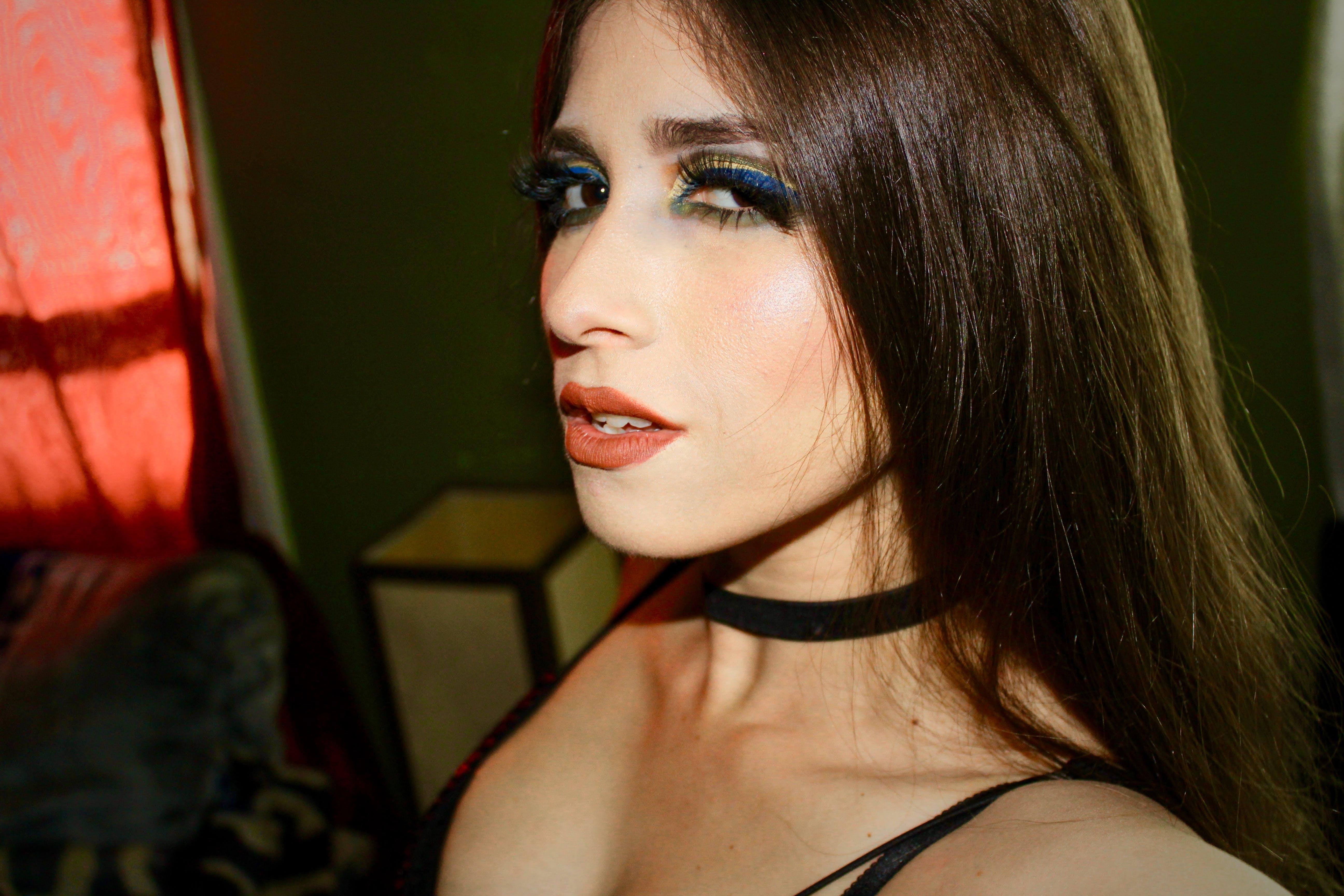 Free stock photo of eye makeup, model