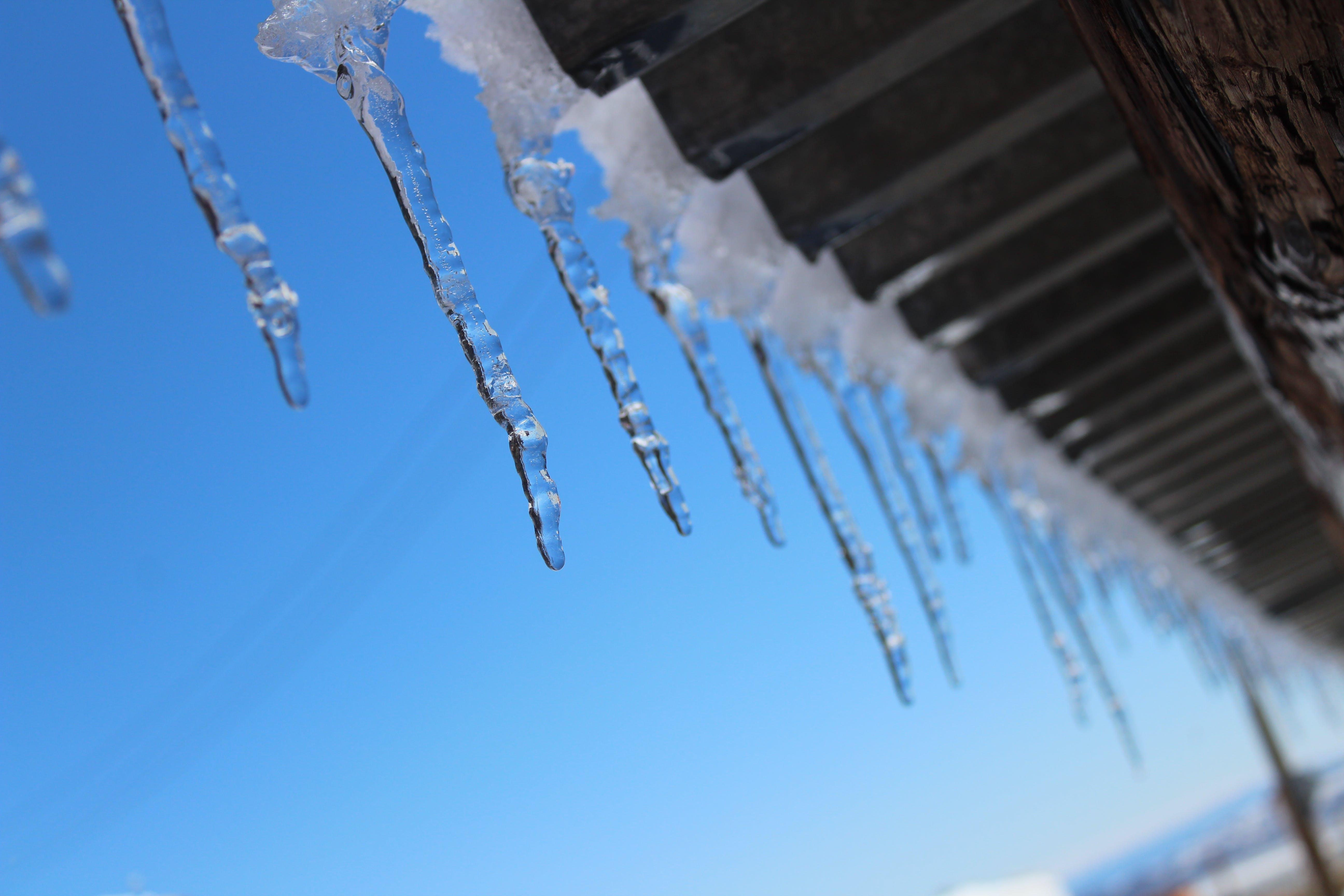 Free stock photo of ice, icicle, Joshua tree ca, snow