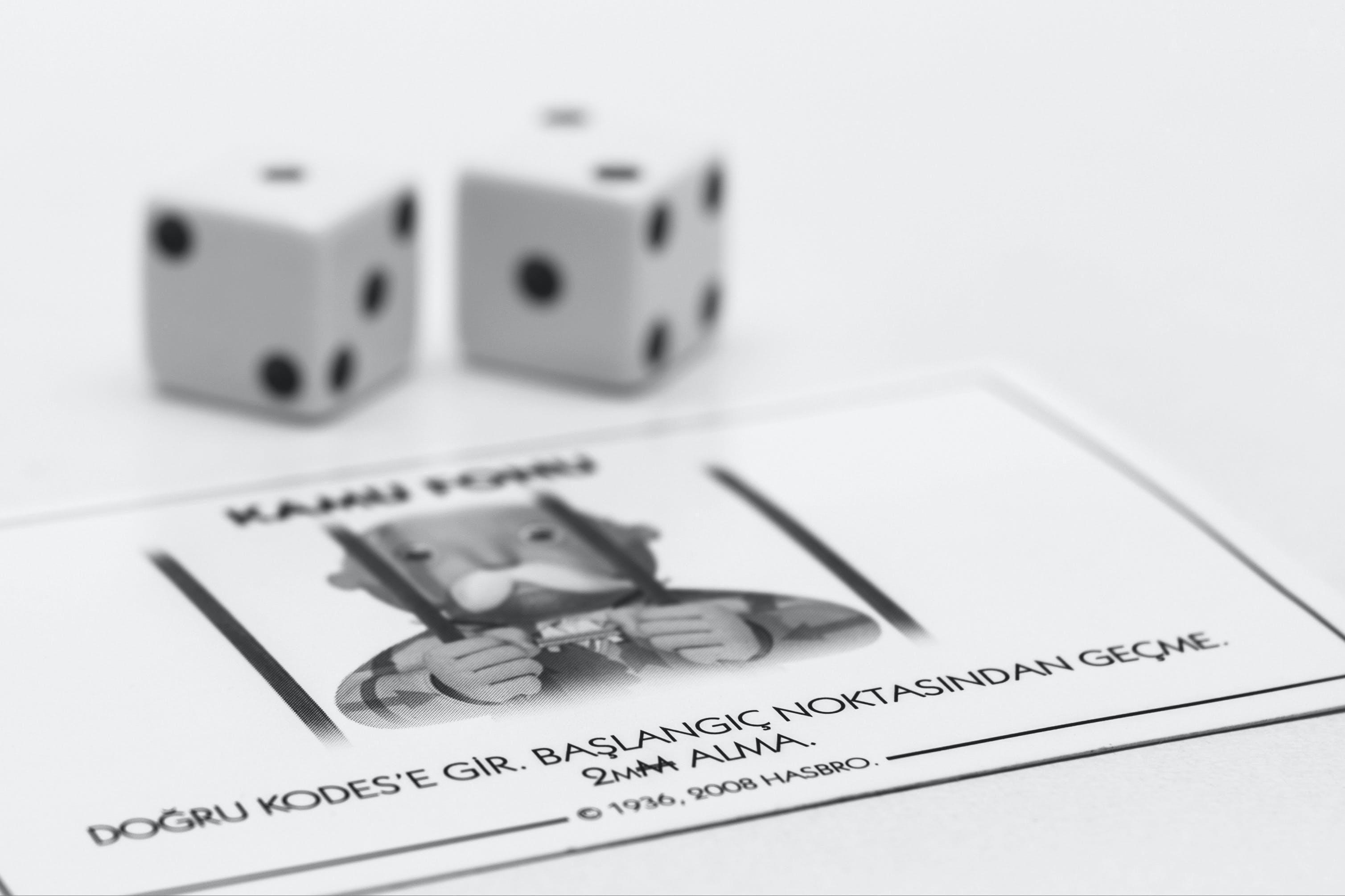 Základová fotografie zdarma na téma monopoly, šance, vězení