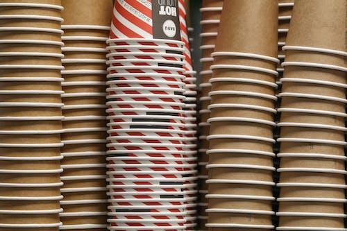 Δωρεάν στοκ φωτογραφιών με γκρο πλαν, κούπα του καφέ, κύπελλο μίας χρήσης, ντιζάιν