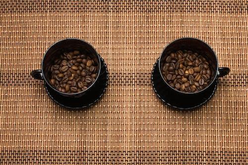 Gratis lagerfoto af bønner, glas, kaffe, kop