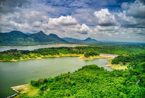 印尼, 天性, 從上面, 景觀 的 免費圖庫相片