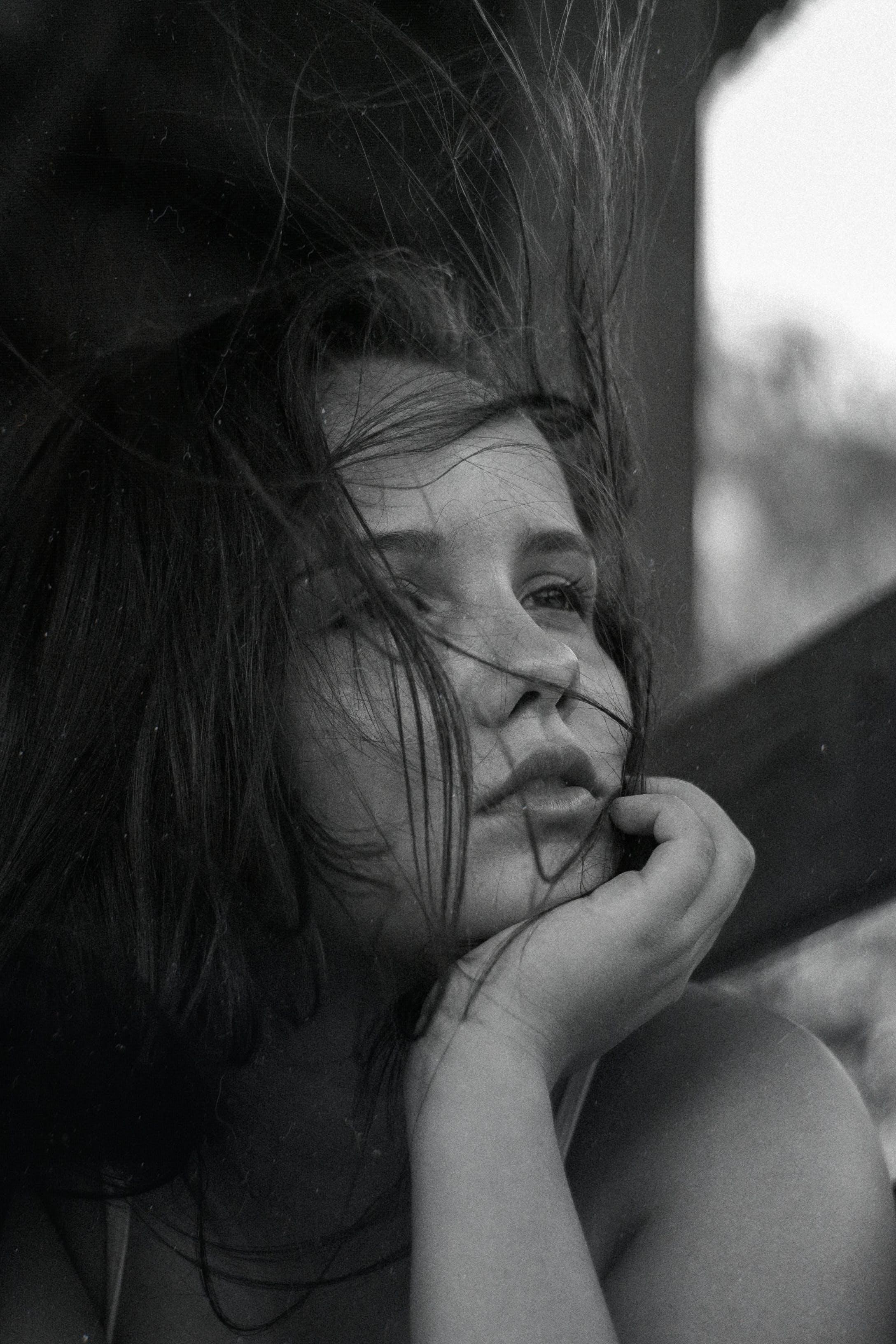 Základová fotografie zdarma na téma černobílá, černobílý, krásný, móda