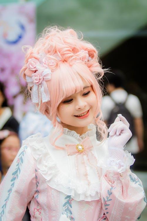 Immagine gratuita di attraente, bellezza, bellissimo, capelli rosa