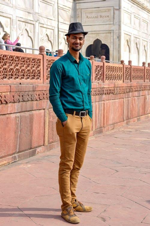 Foto stok gratis anak laki-laki India, bocah Asia, Taj Mahal