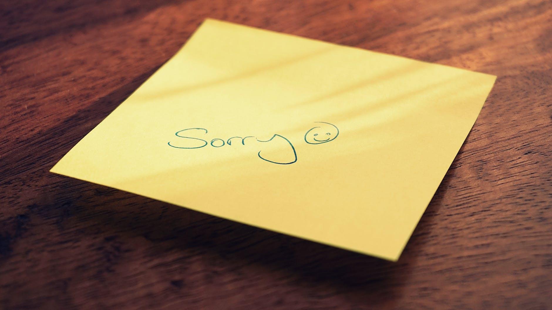 meminta maaf dengan orangtua