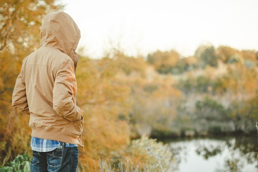 Free stock photo of cold, person, outside, jacket