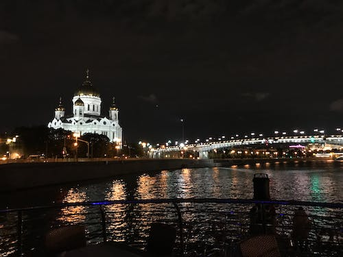 Free stock photo of moscow, moscow river