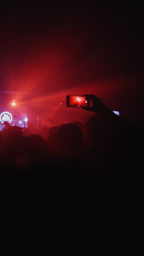 Free stock photo of concert, dancing, event photography, iphone