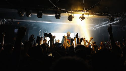 Free stock photo of clubbing, concert, iphone