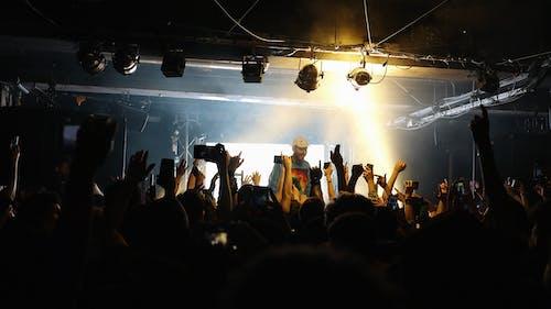 Základová fotografie zdarma na téma hudba, iphone, klubování, koncert
