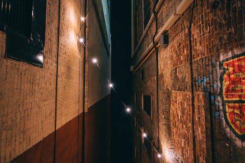 Foto d'estoc gratuïta de ciutat, corda lleugera, exposició llarga, fotografia nocturna