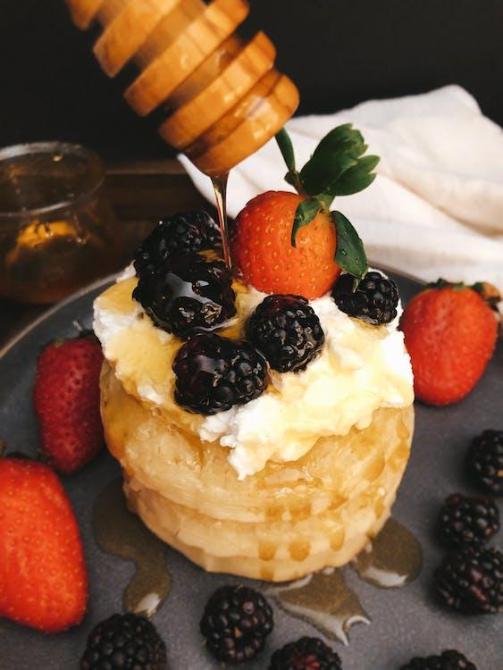 Dessert With Strawberries