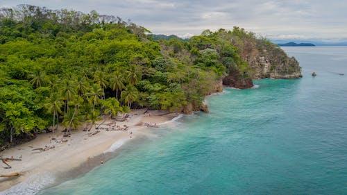 Gratis stockfoto met drone, natuur, strand, zandstrand