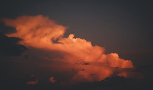 Kostenloses Stock Foto zu goldene sonne, goldene stunde, meer von wolken, weiße wolken
