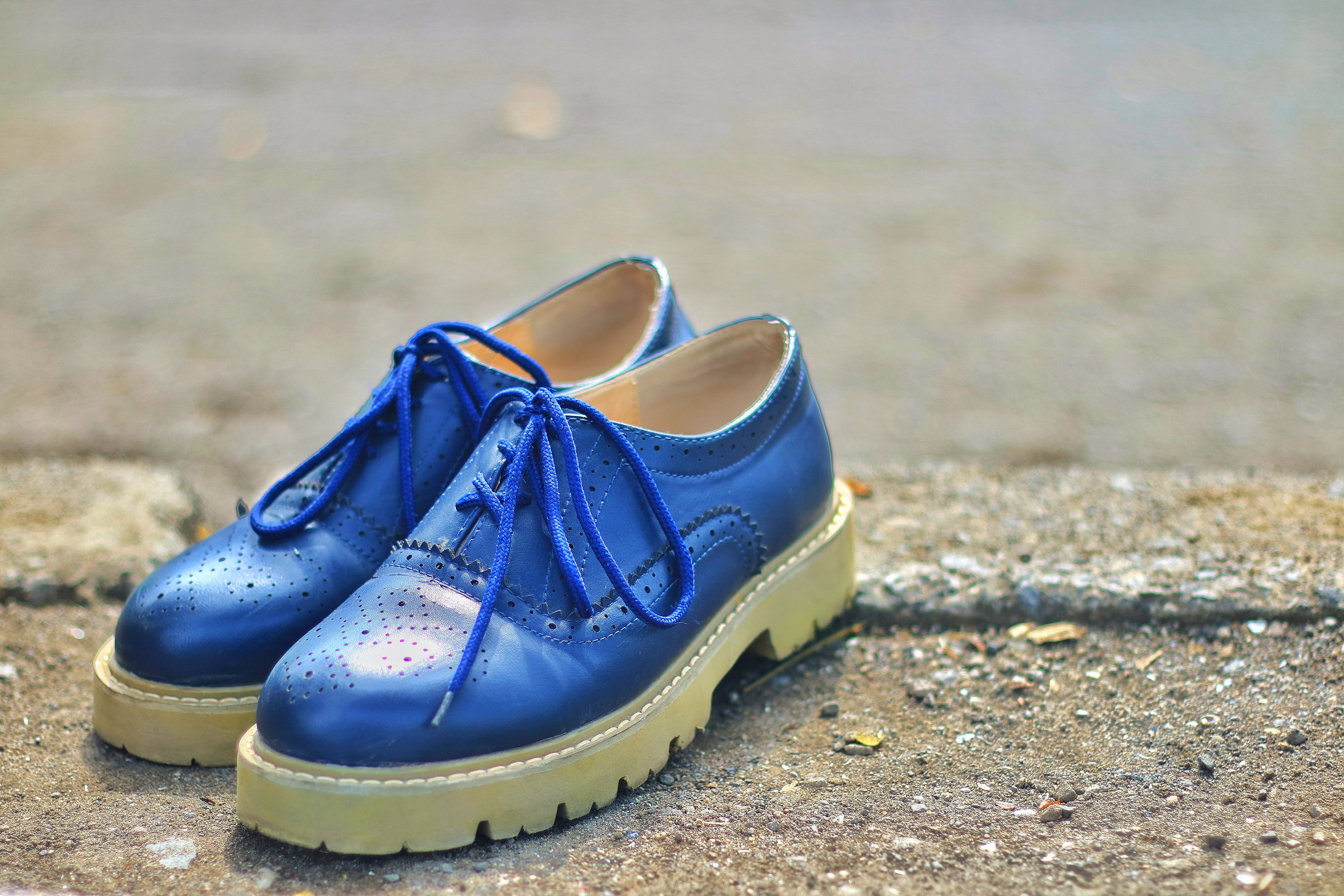 Free stock photo of blue, footwear, product, product shot