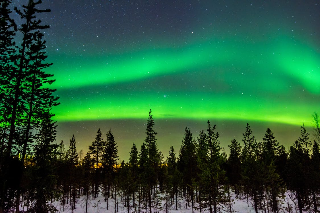 Green Aurora Phenomenon