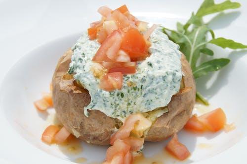 Free stock photo of healthy diet, potato, potatoes, snack
