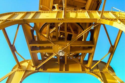 Yellow Metal Building