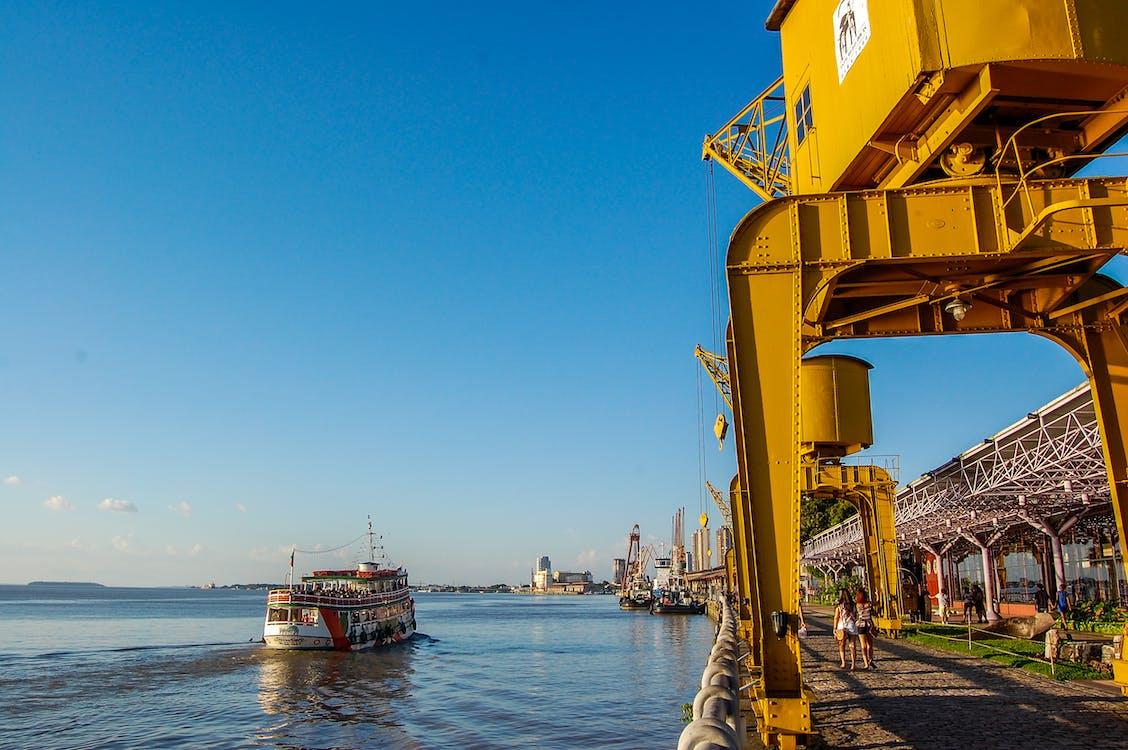 водный транспорт, гавань, корабль