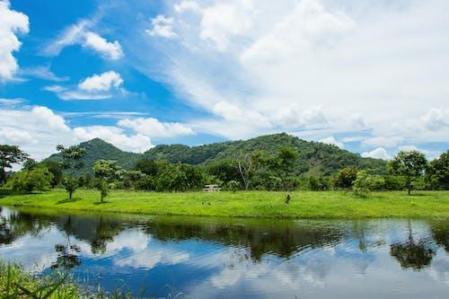 山, 藍天 的 免費圖庫相片