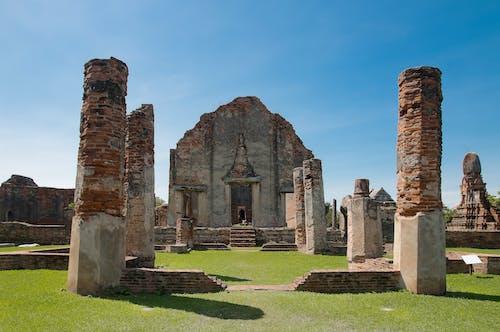 古廟, 廢墟, 歷史古蹟 的 免費圖庫相片