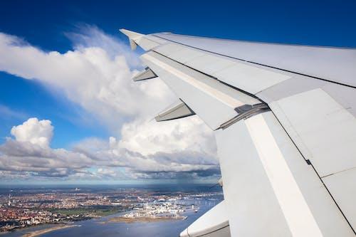 Ingyenes stockfotó közlekedési rendszer, repülés, repülőgép témában